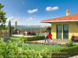 3 brand new houses in Avren village, 28 km south-west of Varna - ID 3391